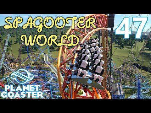 Planet Coaster SPAGOOTER WORLD - Part 47 - Star Loop! |