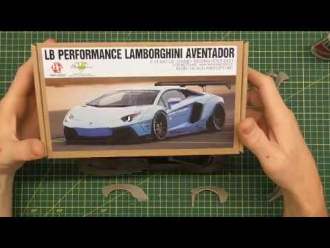 HOW TO BUILD THE HOBBY DESIGN LB AVENTADOR PART 5 - Fitting the resin parts