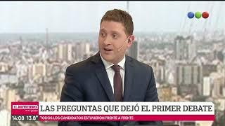 Jonatan Viale analiza el debate: la pregunta de Mauro Szeta