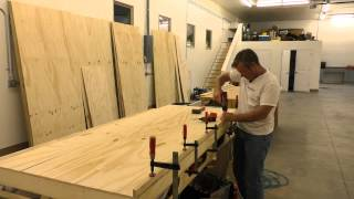 Building A Mobile Woodshop (part 18)  A Fantastic Wall Unit For Screw Storage.