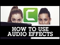 Camtasia 9 tutorials how to use audio effects how to edit your audio mp3