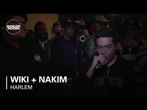 Wiki (Ratking) + Nakim freestyle - Boiler Room Rap Life Harlem