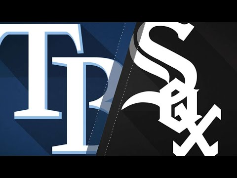 Snell, offense propel Rays past White Sox - 4/10/18