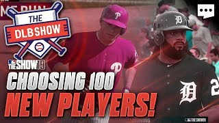 100 NEW PLAYERS JOIN THE DLB! | mlb the show 19 franchise DLB #15