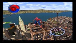 Spider-Man 2 PS2 Gameplay
