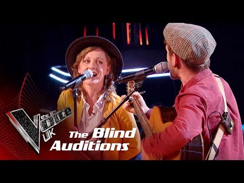 Sand & Stone Perform 'I Will Wait': Blind Auditions | The Voice UK 2018