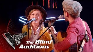 Sand & Stone Perform 'I Will Wait': Blind Auditions | The Voice UK 2018 - Stafaband