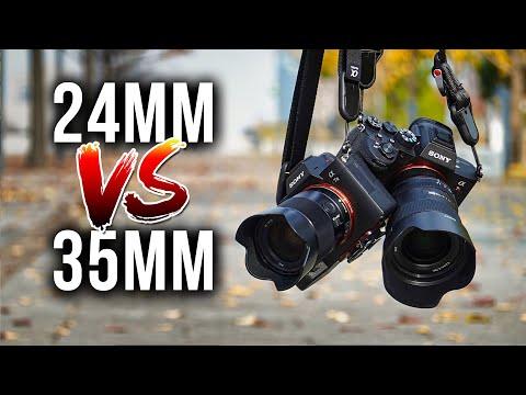 24mm VS 35mm Lenses for Travel Landscape & Street Photography!