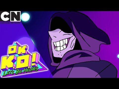 OK K.O.! | Battle with the Shadowy Figure | Cartoon Network