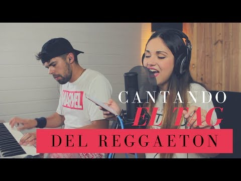CANTANDO EL TAG DEL REGGAETON   Carolina García thumbnail