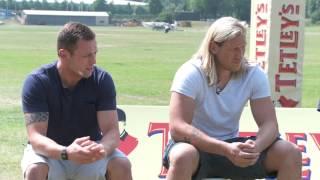 Tetley's meet Shaun Lunt, Eorl Crabtree & Ryan Sidebottom