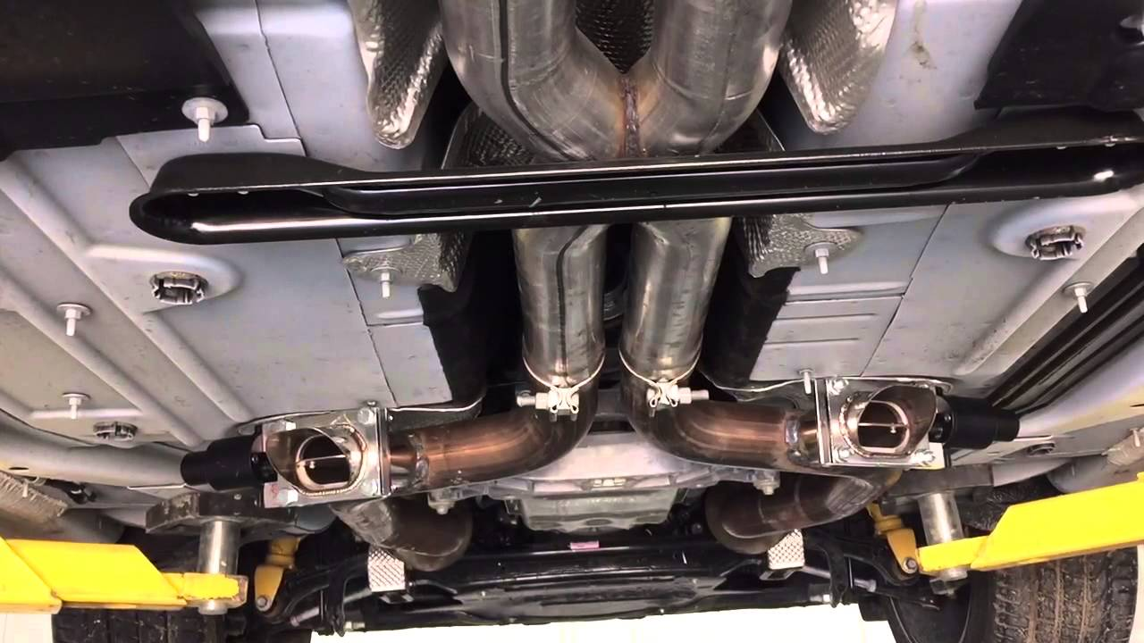 2015 Dodge Charger Hellcat Exhaust Cutouts Qtp Electric