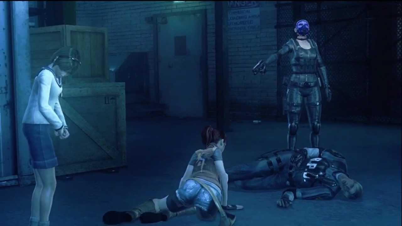 Hasil gambar untuk resident evil operation raccoon city Leon execute