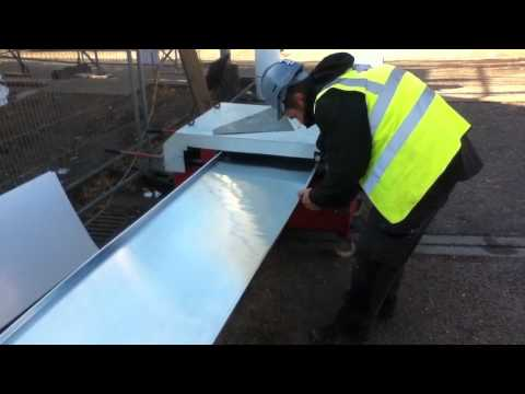 Making the Zinc Roof