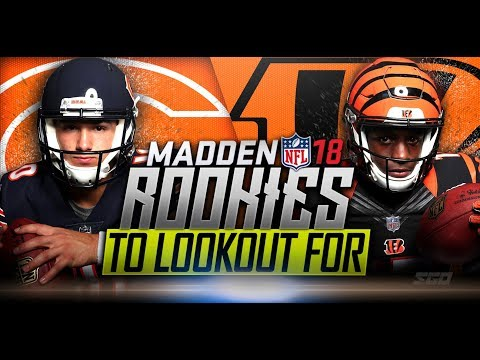 Madden 18 Top 10 Rookies to Look Out For Part 2