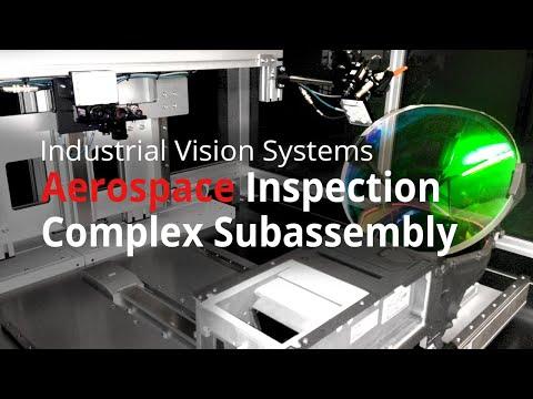 Vision System Automatically Checks Aerospace Assembly