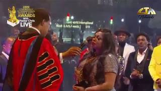 Gospel singer Sinach becomes a mother after 5 years of marriage