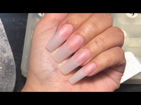 Acrylic Nails Tutorial| Watch Me Do My Nails