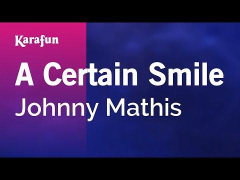 Karaoke A Certain Smile - Johnny Mathis *