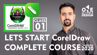 CorelDraw 2020 Complete Course for Beginners # 01 | Free Training in Urdu / Hindi