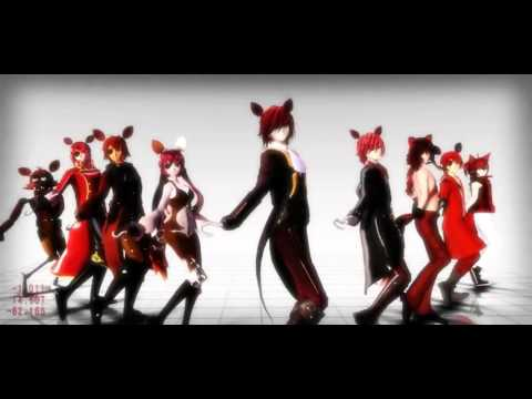MMD Five Nights At Freddy's TOO MANY FOXY MODEL'S