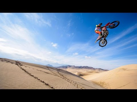 Freeride Moto Paradise of Death Valley