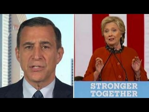 Darrell Issa: FBI investigation a 'mess' created by Clinton