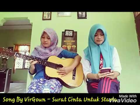 Surat Cinta Untuk Starla- Virgoun (Cover By Hilda & Saroh)