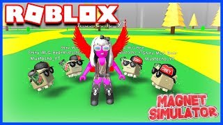 I've PERDU MY DIAMANTS! Roblox Magnet Simulator