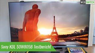 Sony KDL 50W805B Testbericht