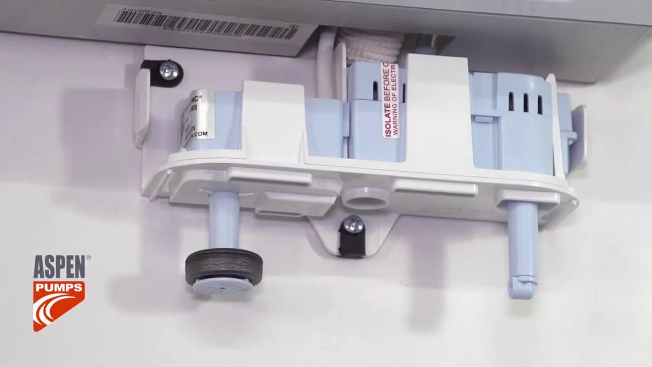 How To Install The Rectorseal Aspen Mini White Condensate