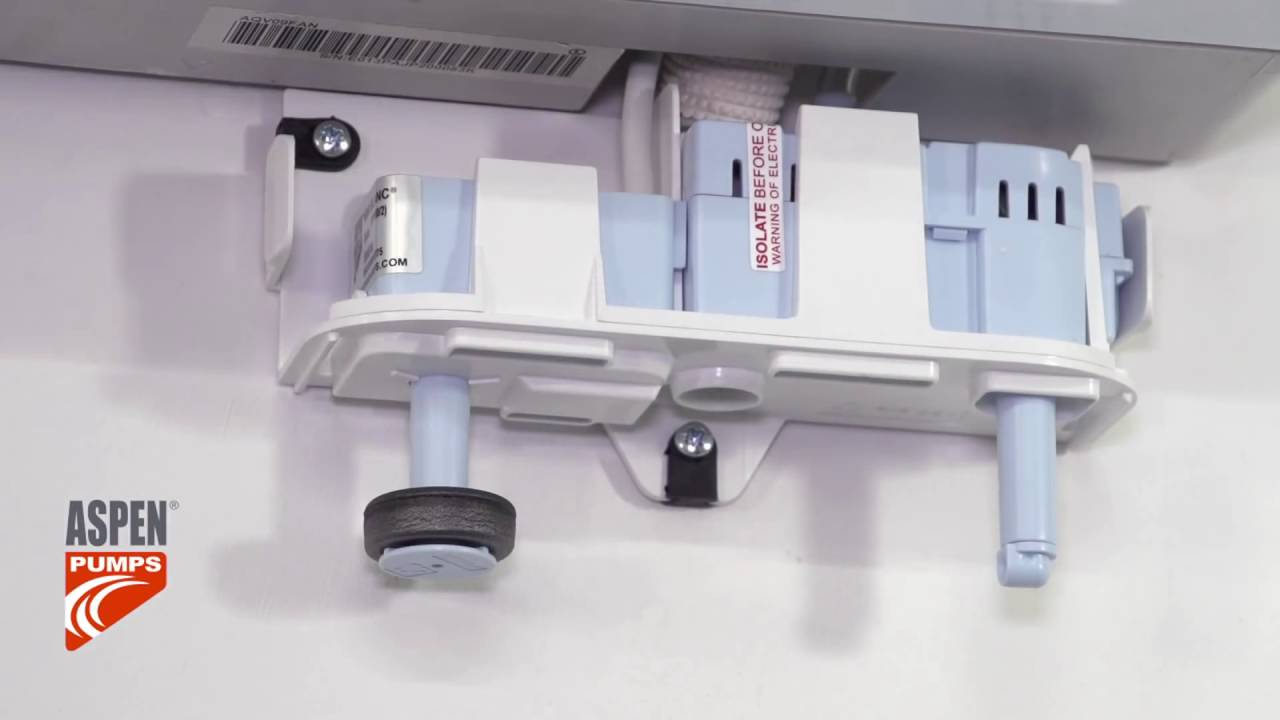 hight resolution of how to install the rectorseal aspen mini white condensate pump kit mini split drain diagram