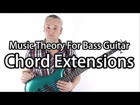 Cool 9th, 11th and 13th chord Arpeggios for Bass!