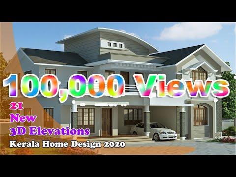 Kerala Home Design 2020 3d Design Elevation New Plan Villa Design March 2020 Youtube