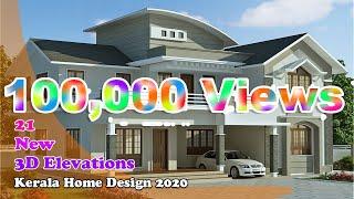 Kerala Home Design 2020 || 3d Design || Elevation || New Plan || Villa Design || March 2020