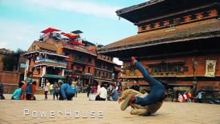 Everest Crew Nepal -Free style bboying @bhaktapur