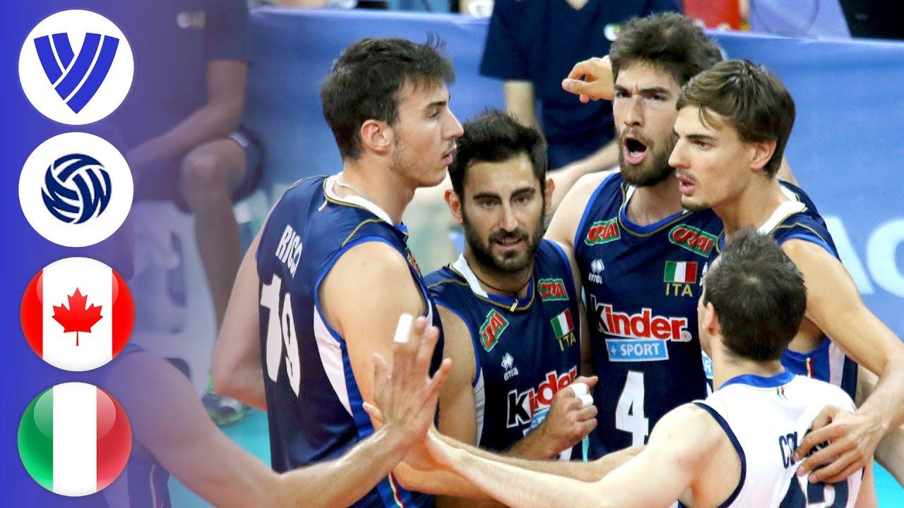 Canada vs. Italy - Full Match | Men's Volleyball World League 2017