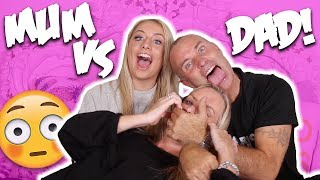 WHO'S THE BETTER PARENT?!?! MUM VS DAD CHALLENGE!!! 😱