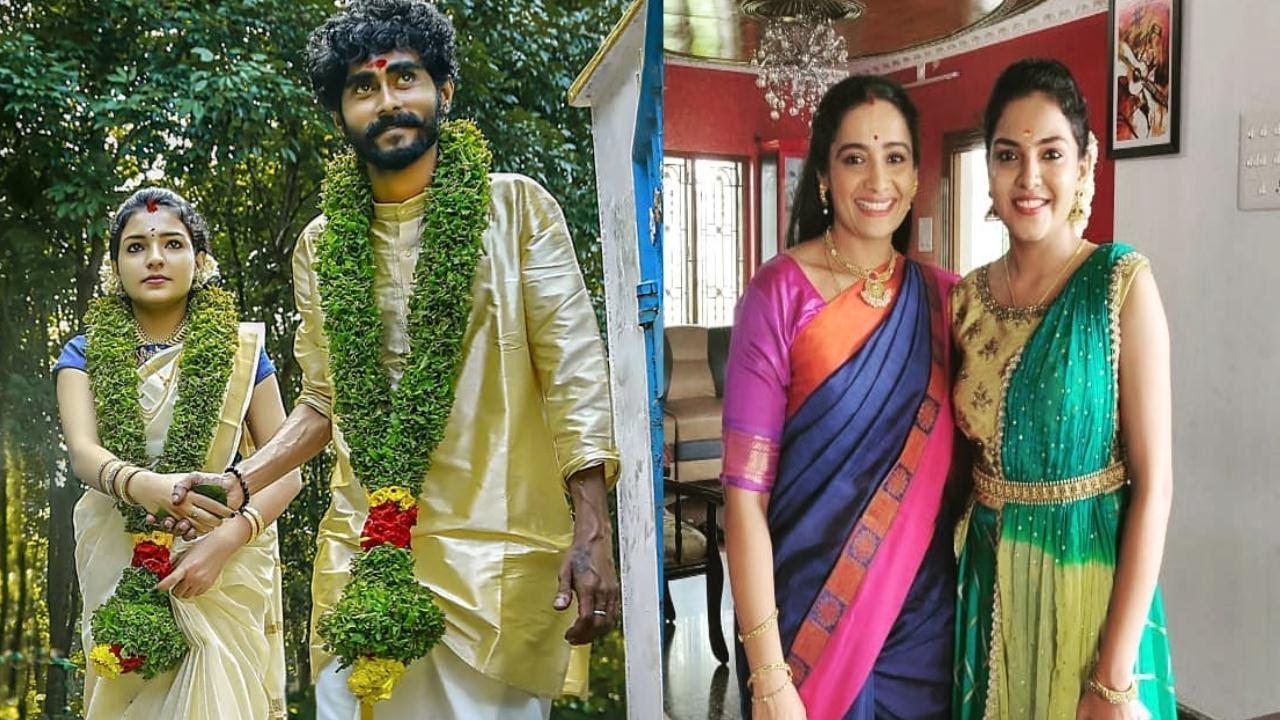 Kudumbavilaku Sheetal Get Married Wedding Pookkalam Varavayi  Mridula Sister Asianet ZeeKeralam