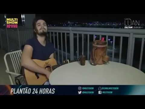 Flash 02 - Canta Luan no Multishow - Escolha do Jantar - 24HorasComLuan 0108