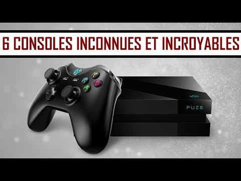 6 CONSOLES DE JEUX INCONNUES ET INCROYABLES