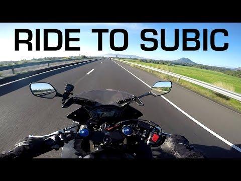 MotoVLOG: 200KM+ Ride to Vasco's Subic R120