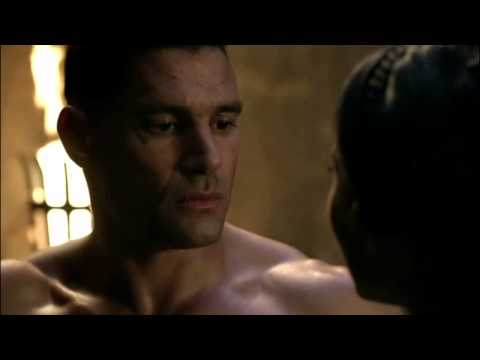 Crixus And Naevia First Kiss