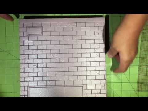 015. Tutorial - Diorama Brick Walls from Start to Finish