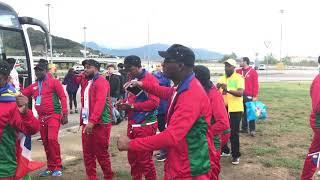 Делегация из Намибии в составе 170 человек прибыла в Сочи
