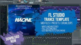 #Trance #FLStudio #Template - ASOT Style by KWONE