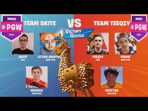 TEAM Teeqzy VS TEAM Skite : Finale Tournoi Du LAMA D'OR, Le Zap De Twitch #13