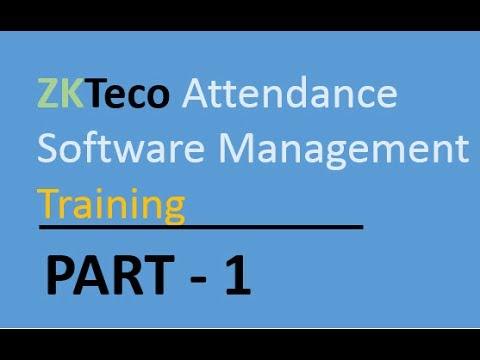 Zktime 5 0 Attendance Management Software User Manual