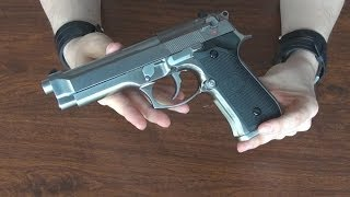 (Airsoft) Unboxing the new WE Beretta 92FS
