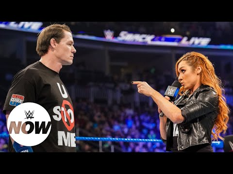 Becky Lynch's parting words to John Cena after SmackDown showdown: WWE Now